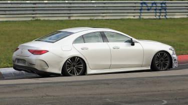 Mercedes CLS - spyshot 8