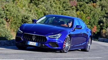 Maserati Ghibli facelift - front action
