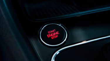 SEAT Leon - start/stop button