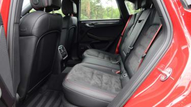 Porsche Macan GTS - rear seats