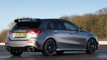 mercedes-amg a 35 static rear