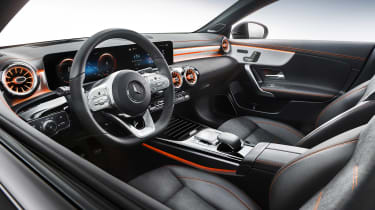 Mercedes CLA - studio interior