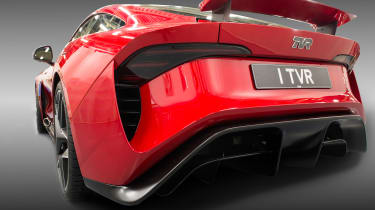 TVR Griffith - rear static