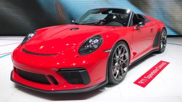 Porsche 911 Speedster - Paris front static