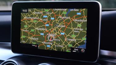 Long-term test review: Mercedes GLC - first report sat nav