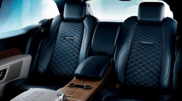 Range Rover SV Coupe - back seats