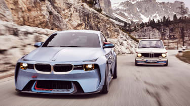 BMW 2002 Hommage - front tracking