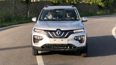 Renault K-ZE - front cornering