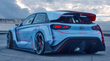 Hyundai RN30 Concept - rear quarter 2