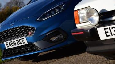 Ford Fiesta XR2 vs Ford Fiesta ST - front detail