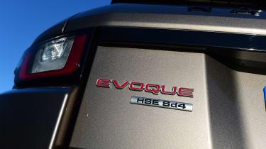 Range Rover Evoque SD4 - SD4 badge