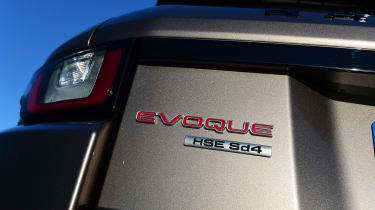 Range Rover Evoque SD4 - SD4 badge
