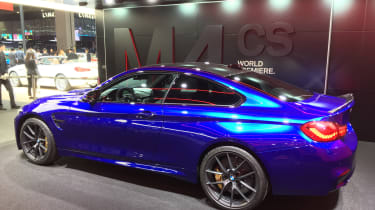 New BMW M4 CS - rear