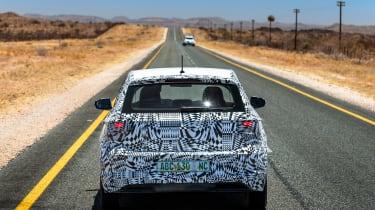 New Volkswagen Polo 2017 prototype tailgate