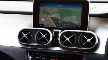 Mercedes X 350 d long-term test - second report sat-nav