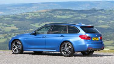 BMW 3 Series Touring - rear static