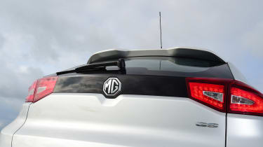 MG GS vs rivals - MG GS boot lid