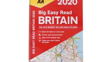 AA Big Easy Read Britain 2020