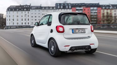 Smart ForTwo and ForFour Brabus rear shot