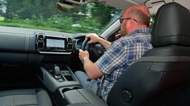 Citroen C5 Aircross long termer second report - in-car