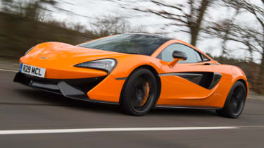 Mclaren 570s review - side view