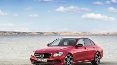 Mercedes E-Class 2016 - Detroit show reveal 1