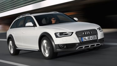 Audi A4 Allroad 3.0 TDI front tracking