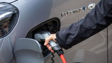 Toyota Proace Electric van - charging