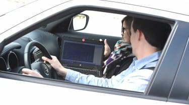 Precision Driving - in car