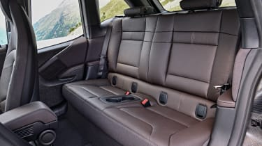 BMW i3S - back seats