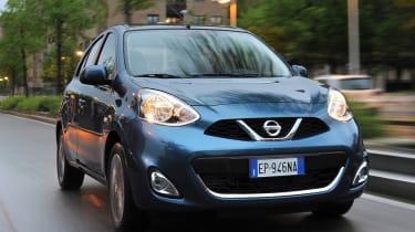 <span>The Nissan Micra is a supermini that rivals the&nbsp;</span>Ford Fiesta<span>,&nbsp;</span>Vauxhall Corsa<span>&nbsp;and Mazda 2.</span>
