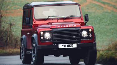 Land Rover Defender Works V8 - front