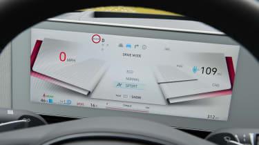 Hyundai Ioniq 5 - dials