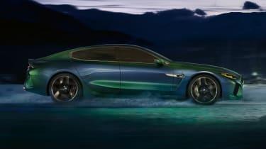 BMW M8 Gran Coupe - side profile