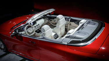 Mercedes-Maybach S650 - show overhead