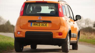 Fiat Panda Trekking rear cornering