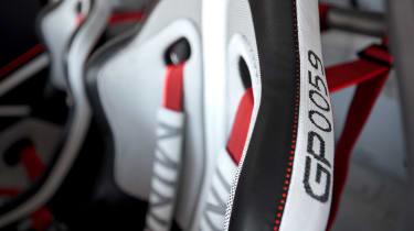 MINI JCW GP1 Concept - seat detail