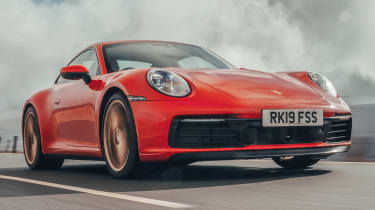 Porsche 911 Carrera S - front tracking low