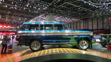 Jeep 75th Anniversary Geneva - heritage model