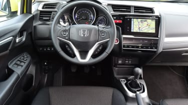 Honda Jazz - interior