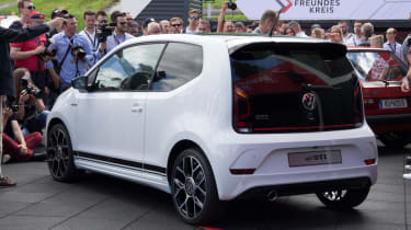 Volkswagen up! GTI Worthersee reveal rear