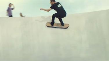 Lexus hoverboard - banking shot 2