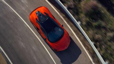 McLaren Artura - front above
