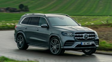 Mercedes GLS - front action