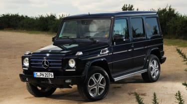 Mercedes G350 Bluetec front static