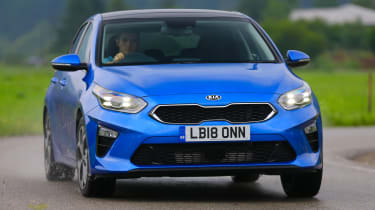 New Kia Ceed UK front end