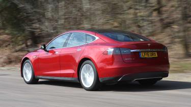 Tesla Model S long-term final report - rear