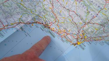 SEAT Tarraco long-termer - first report map