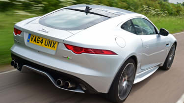 Jaguar F-Type R Coupe rear quarter