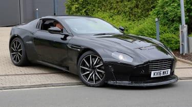 Aston Martin V8 Vantage spy shot - front quarter